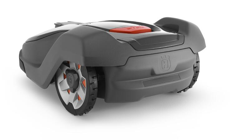 Back view of the Husqvarna Automower 430X