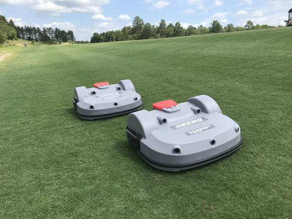Two Echo TM-2000's at the National Athletic Village